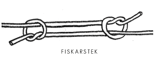Fiskarstek. Illustration Jens Langert