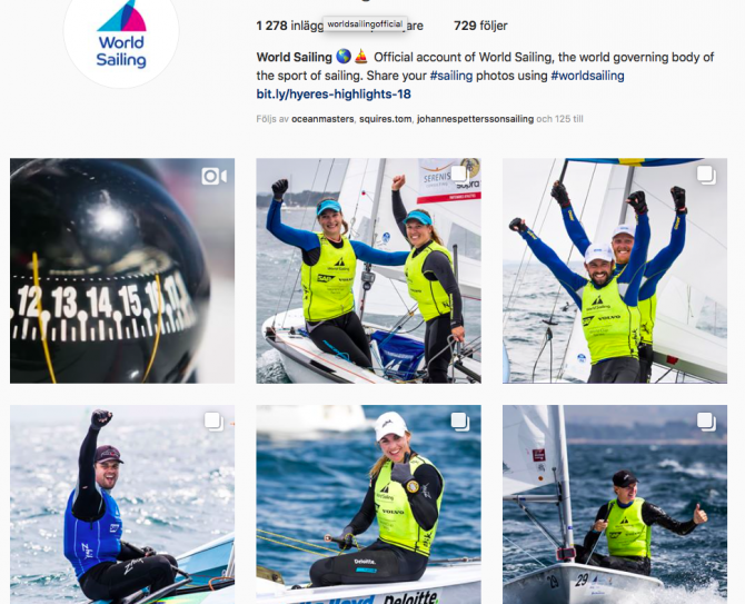 World Sailing Official